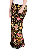 Hybrid & Company - Women's Maxi Skirt W/Fold Over Waist Band - Made in the USA