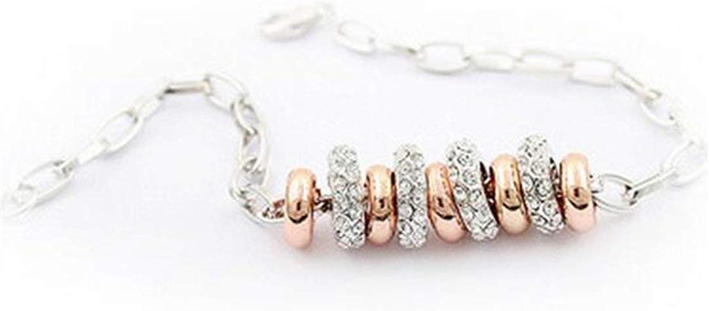 IANXI Home Leng Elegant Pretty Bracelet Extravagance Austrian Crystal Bracelet Women's Jewelry