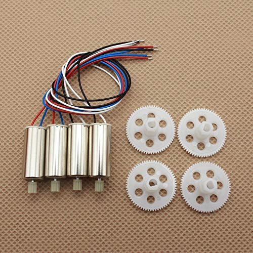 Accessories JD-20 JDRC JD20 Rc Drone Quadrocopter Spare Parts Engines Motor Main Gears Set