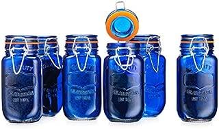 Best cobalt blue mason jars Reviews