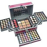 MUUZONING 132 Colores Paleta de Maquillaje - Cosmético Maquillaje Set - Makeup Paleta de sombra de ojos Ultimate Shadow Palette Delineador Corrector Rubor y Lápiz Labial N1