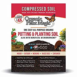 Compressed Organic Potting-Soil for Garden & Plants