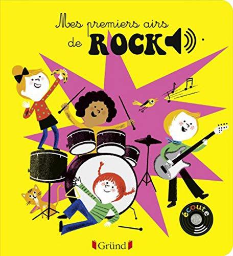 Mes premiers airs de rock – Livre sonore avec 6 puces – Dès 1 an