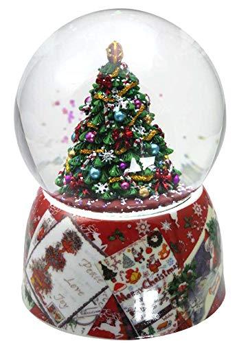 """Il Mondo Dei Carillon Mmm GmbH, 857811 Carillon Palla Di Neve """"Albero Di Natale"""""""