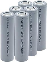 18650 Oplaadbare Lithium Batterij 3.7 V 18650 4500 mAh Lithium ion Oplaadbare Batterij voor zaklamp-2 Stks