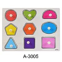 赤ちゃん 手を把握アルファベット 文字動物 木製 パズルキッド 早期教育玩具 3005