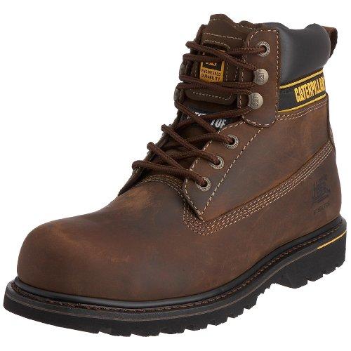 CAT Footwear Herren Holton St S3 Sicherheitsstiefel, Dunkelbraun Dark Brown, 49 EU