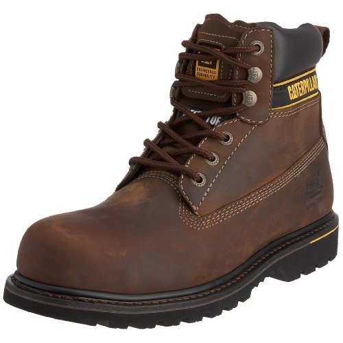 Cat Footwear Holton, Stivali Uomo, Marrone Chocolate, 42 EU