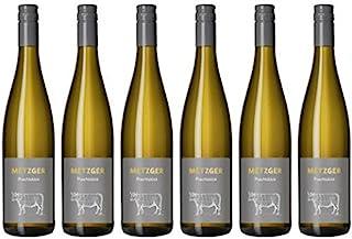 Metzger Prachtstück Weissburgunder Chardonnay Cuvée Weißwein Wein trocken Deutschland aus der Pfalz 6x0,75