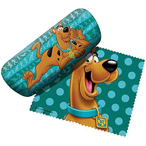 Spoontiques Scooby Doo Eyeglass Case Green Dots