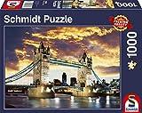 Schmidt Spiele Tower Bridge, London Puzzle - Rompecabezas (London, Puzzle Rompecabezas, Edificios, Niños y Adultos, Tower Bridge, London, Niño/niña, 12 año(s))