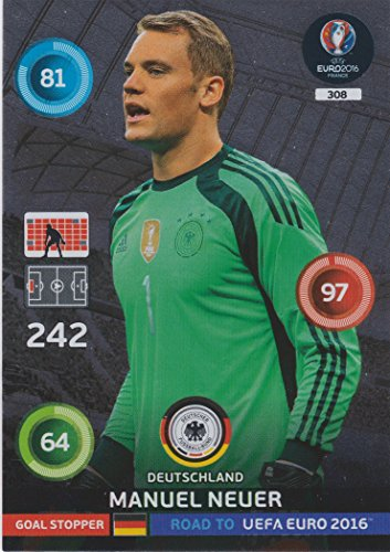 Panini Adrenalyn XL Road To UEFA Euro 2016 - Manuel Neuer Goal Stopper Card