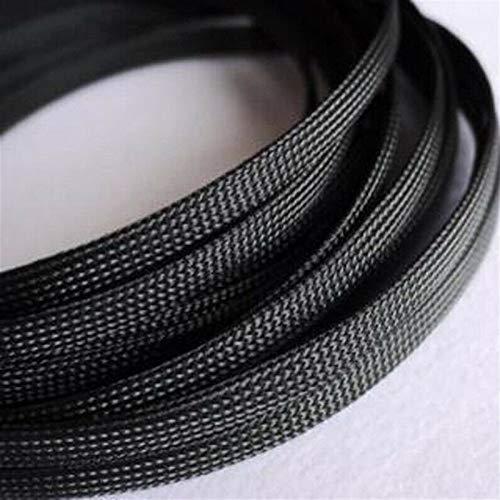 Cable Tidy Sleeves, Negro de piel de serpiente 1-20m cable mangas 3-100mm...