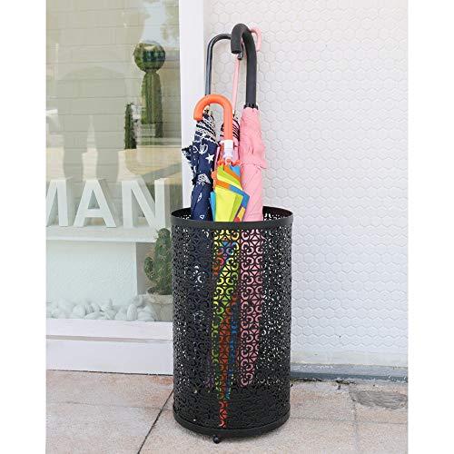 HXiaDyG Paraplustandaard Nordic paraplubak paraplustandaard paraplustandaard hotel lobby cargo vliegtuig buis voor thuiskantoor hal auto