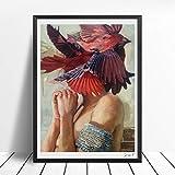 Pintura al óleo Impresiones artísticas y pósters Pinturas sobre lienzo Sala de estar Decoración del hogar 40x50cm