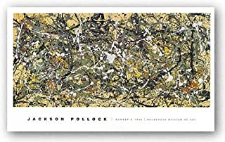 Number 8, 1949 by Jackson Pollock 22.5