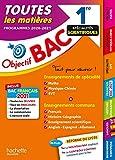 Objectif Bac 1re Enseignements communs + Spécialités Maths-Physique-Chimie-SVT BAC 2021