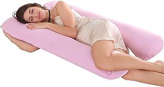 Jian Ya NA - Almohada de lactancia en forma de U para dormir