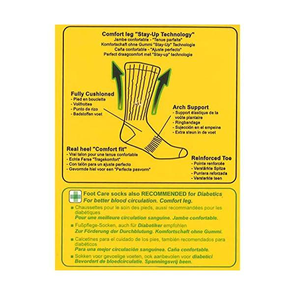 Caterpillar 6 Pares CAT Calcetines de trabajo para hombres, recomendados para diabéticos, circulación sanguínea excelente, hilo de algodón de excelente calidad, disponible en varios tamaños y colores