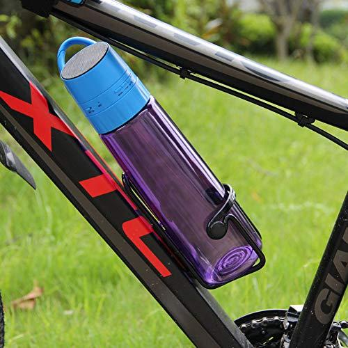 LIXIAOYUN Multifunktions-Reise-Becher, Außen Smart-Bluetooth-Audio-Sportflasche Creative Music Cup Bewegliche Fahrrad-Wasser-Flaschen,Lila
