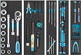 HAZET - Maletín de herramientas metálico (maletín móvil de montaje, con surtido...