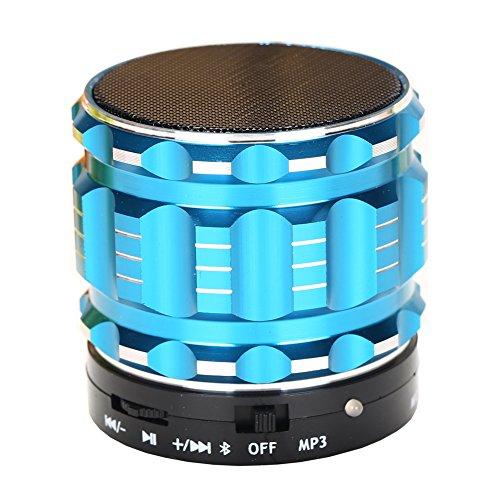 Hopestar Wireless Bluetooth Portable Speaker with FM Radio (Blue)