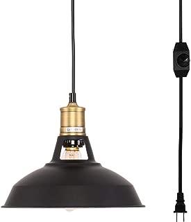 Kingmi Plug-in Pendant Light with Plug in 16.4