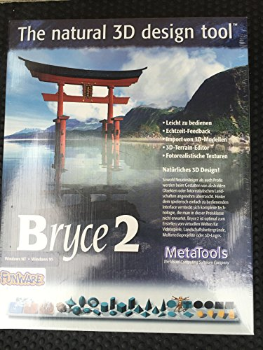 Bryce 2 - The natural 3D design tool