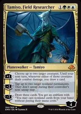 Magic The Gathering - Tamiyo Researcher 190 Field Dallas Mall Popular product 205 Eldri