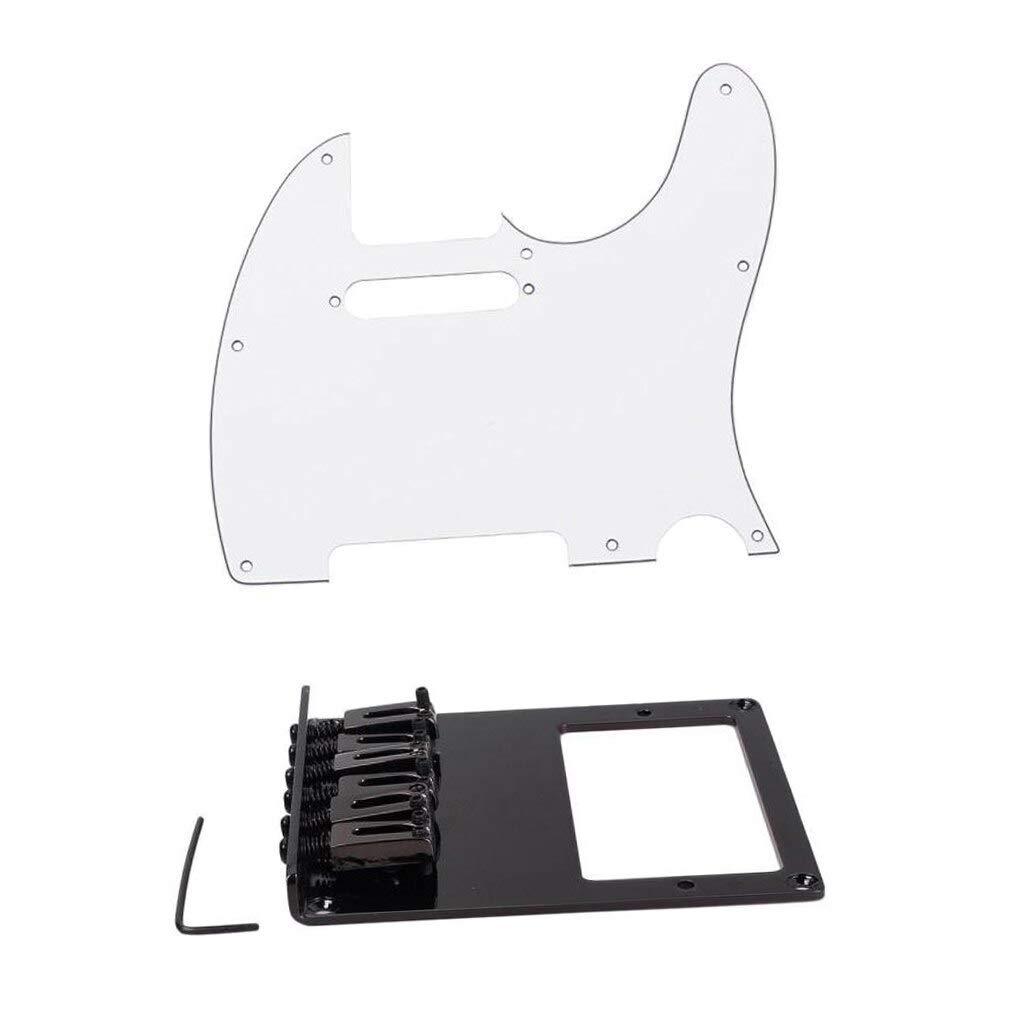 Guitar Parts Max 45% OFF Anti Skid Pick Guard Plate New Shipping Free w Bridge for E TL