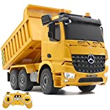 Hugine RC Dump Truck 2.4G 1/20 Scale Authorized by Mercedes-Benz Arocs Professional 6