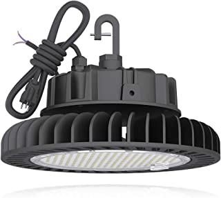 HYPERLITE LED High Bay Light | 28000LM( 200W )Dimmable High Bay LED Lighting | UL/DLC Approved | 5000K Commercial Lights | US Hook Included | Alternative to 850W MH/HPS | 5 Yr Warranty