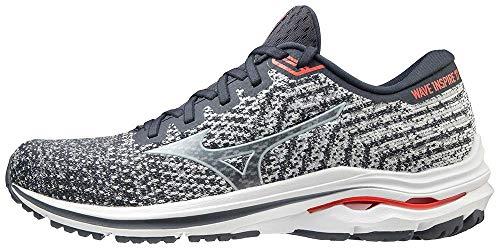 Mizuno Men's Wave Inspire 17 Running Shoe, India Ink-Blue, 10.5 Wide