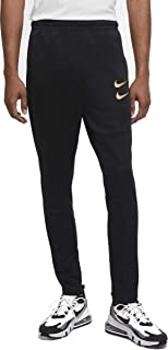 Nike Sportswear Swoosh Men's Pants DC2591-010 Black/Metallic Gold