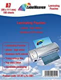 100plastificar DIN A7(80x 111mm) LH Cortex-A7BTY-L75–1001de Label...