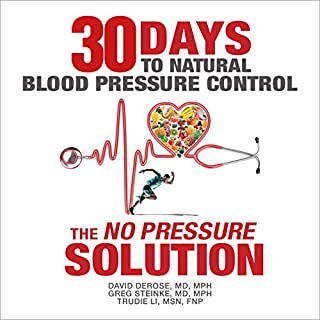 Thirty Days to Natural Blood Pressure Control audiobook cover art