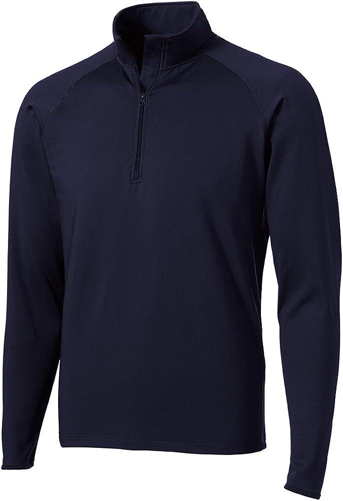 DRIEQUIP Moisture Wicking 1/2-Zip Stretch Pullover Sweatshirt Regular Big & Tall