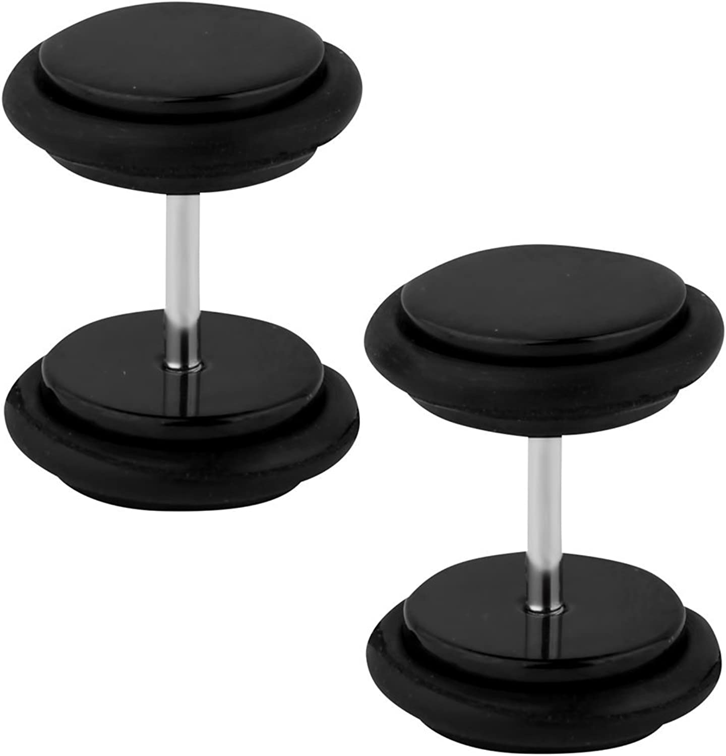 Forbidden Body Jewelry Popular shop is the lowest price challenge 18g Cheater Plugs: Steel 8 0g Surgical Ranking TOP5 mm