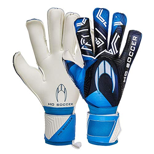 Ho Soccer SSG ESKUDO II Blue Torwarthandschuhe, Unisex, Erwachsene, Blau/Schwarz, 10