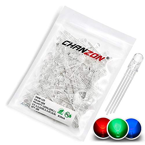 Amazon.com - 100pcs RGB LED common cathode