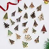 SHAOWU Nuevos broches de árbol de Navidad para Mujer con Incrustaciones de Diamantes de imitación, joyería de Moda, broches para Festivales, Buen Regalo, Abrigo de Invierno, Broche para Gorra 23