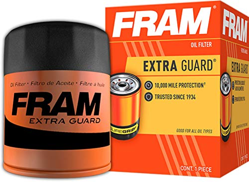 Fram PH7317 Extra Guard 10K Mile Change Interval Spin-On Oil Filter , black