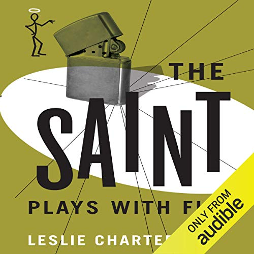 The Saint Plays with Fire cover art
