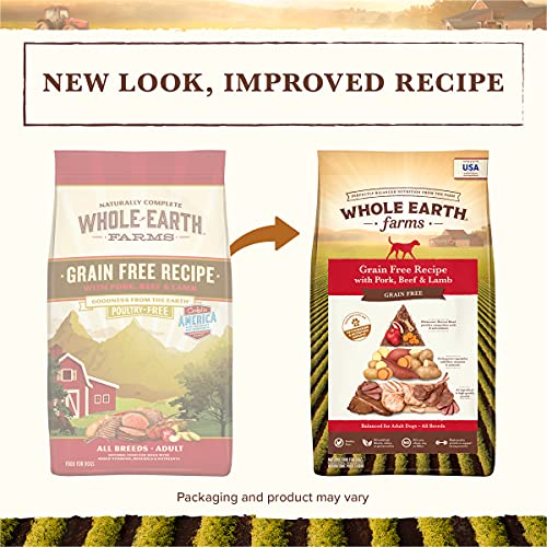 Whole Earth Farms Grain-Free Dry Dog Food