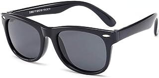 Wxlyy - Gafas de sol para niños gafas de sol marea niños y niñas bebé polarizador anti-ultravioleta marco suave de silicona