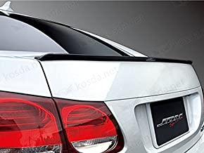 TRUE LINE Automotive TrueLine Flat Black Finish Trunk Spoiler Lip Kit