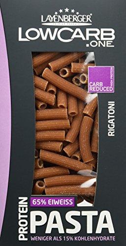 Layenberger Protein Pasta Rigatoni, (6 x 240 g)