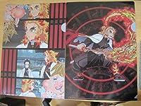 鬼滅の刃A4クリアファイル2枚セット煉獄杏寿郎 comic anime アニメ