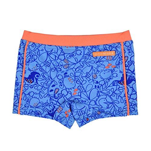 Hippo Punk zwembroek, voor jongens, blauw, maat: 6 maanden (68 cm)
