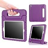 MoKo Funda para iPad Mini 3/2 / 1 - Shock Proof Material EVA Lightweight Kids Protector Cover Case con Manija para Apple iPad Mini3 / Mini2 / Mini1 7.9 Pulgadas Tableta, Violeta